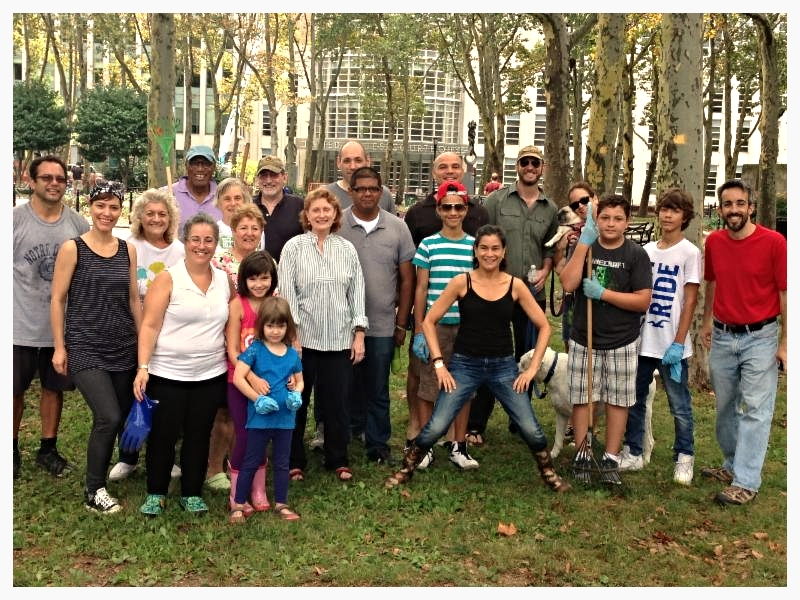 Volunteer Clean Up Crew Sweep Cadman Park! | My CMS
